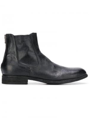 Ботинки челси на молнии Pantanetti. Цвет: черный