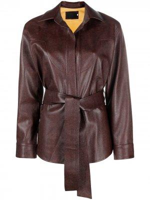 Куртка  Western RAQUETTE. Цвет: коричневый