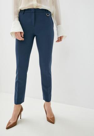 Брюки Trussardi Jeans. Цвет: голубой