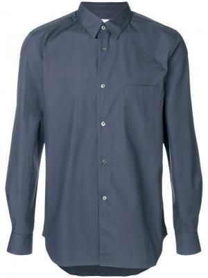 Классическая рубашка Comme Des Garçons Shirt. Цвет: серый