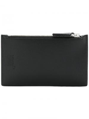 Zipped long wallet Montblanc. Цвет: черный