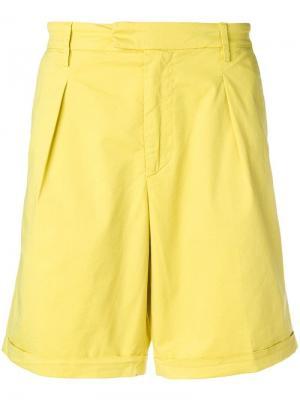 Классические шорты-чинос Dondup. Цвет: желтый
