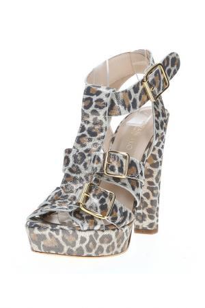 Босоножки Fiorangelo. Цвет: leopard