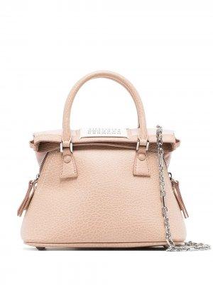 Мини-сумка 5AC Maison Margiela. Цвет: нейтральные цвета