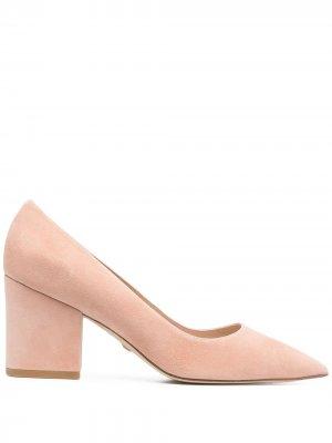 Туфли Luna 75 Stuart Weitzman. Цвет: розовый