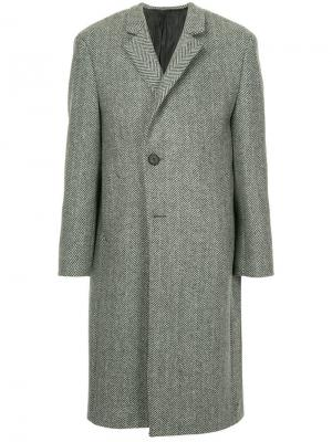 Classic long coat Wooyoungmi. Цвет: серый