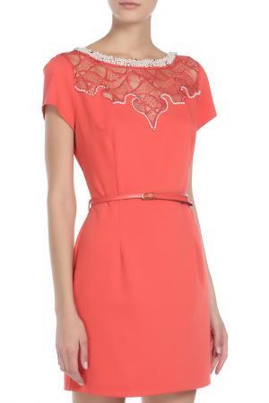 Платье SHELTER. Цвет: красный