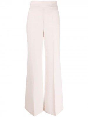 Расклешенные брюки широкого кроя Elisabetta Franchi. Цвет: розовый