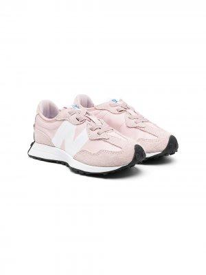 Кроссовки с логотипом New Balance. Цвет: розовый