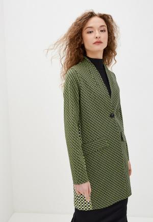 Пальто Rich&Royal. Цвет: зеленый