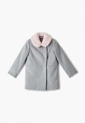 Пальто Choupette. Цвет: серый