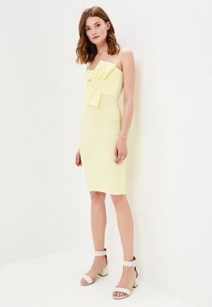 Платье Edge Street. Цвет: желтый