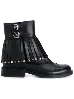Декорированные ботинки Htc Los Angeles. Цвет: черный