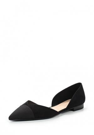 Туфли Mango. Цвет: черный