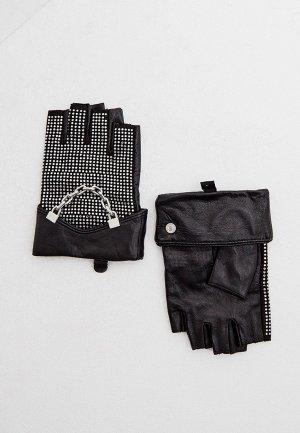 Митенки Karl Lagerfeld. Цвет: черный