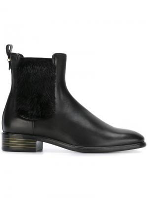 Ботинки-челси Falk Salvatore Ferragamo. Цвет: чёрный