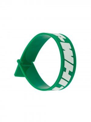 Браслет 2.0 Industrial Off-White. Цвет: зеленый