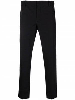 Укороченные брюки кроя слим Pt01. Цвет: черный