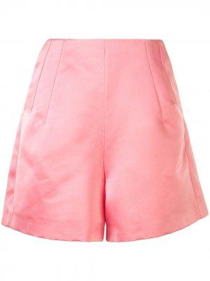 Атласные шорты Dice Kayek. Цвет: розовый