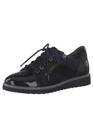 Ботинки JANA. Цвет: 018 черный