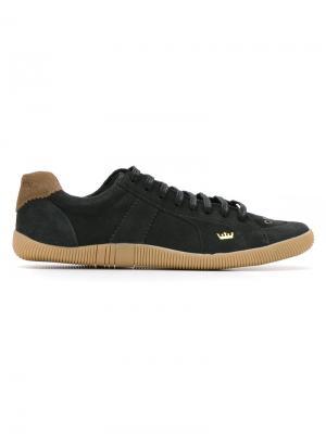 Кроссовки на шнуровке Osklen. Цвет: черный