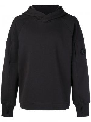Plain hoodie CP Company. Цвет: черный