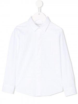 Рубашка с длинными рукавами Paolo Pecora Kids. Цвет: белый