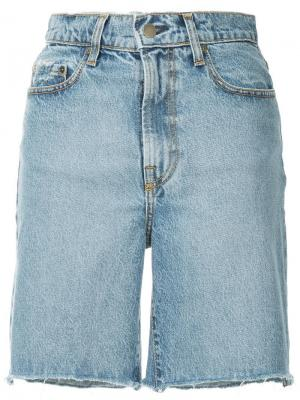 Джинсовые шорты Tyler Nobody Denim. Цвет: синий