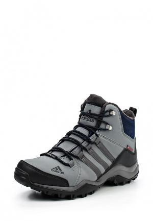 Ботинки трекинговые adidas Performance. Цвет: серый