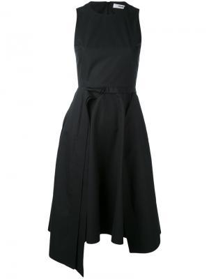 Платье без рукавов А-силуэта Chalayan. Цвет: синий
