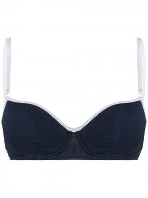 Бюстгальтер на косточках Dolce & Gabbana. Цвет: синий