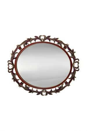 Поднос с зеркалом Ciel Collections. Цвет: коричневый