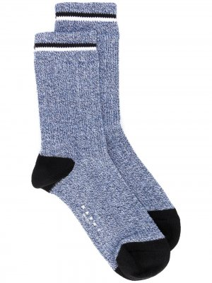 Носки в полоску Marni. Цвет: синий