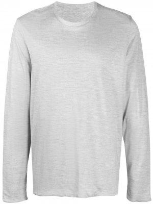 Пуловер с длинными рукавами Sease. Цвет: серый