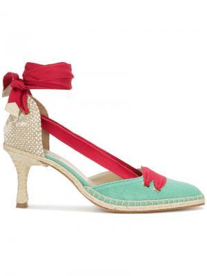 Туфли со шнуровкой Castañer. Цвет: синий