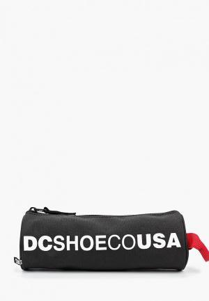 Пенал DC Shoes. Цвет: черный