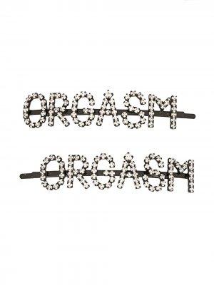 Заколки для волос Orgasm Ashley Williams. Цвет: черный