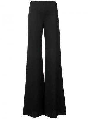Расклешенные брюки Vionnet. Цвет: черный