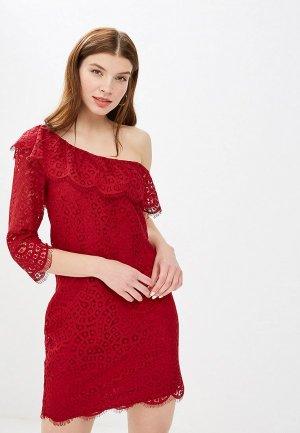 Платье Mint&Berry. Цвет: бордовый