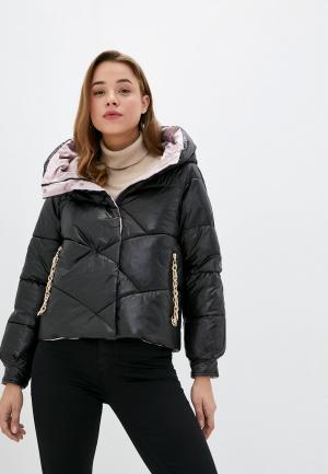 Куртка утепленная Allegri. Цвет: разноцветный