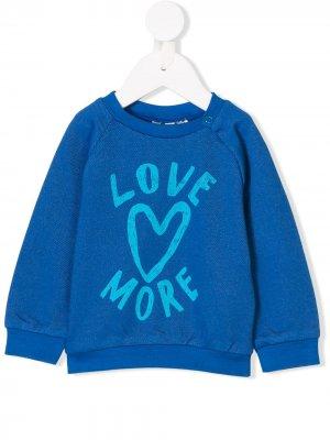 Love More sweatshirt Noé & Zoë. Цвет: синий