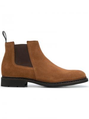 Ботинки-челси Paraboot. Цвет: коричневый