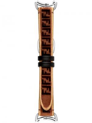 Ремешок для часов Selleria Fendi. Цвет: коричневый