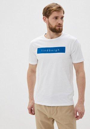 Футболка Lindbergh. Цвет: белый