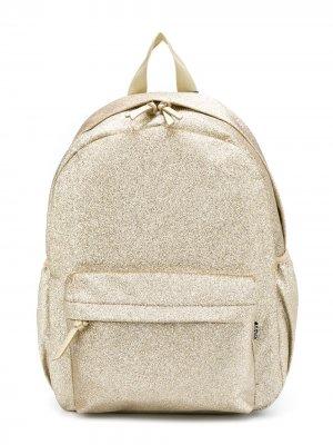Рюкзак с эффектом металлик Molo Kids. Цвет: золотистый