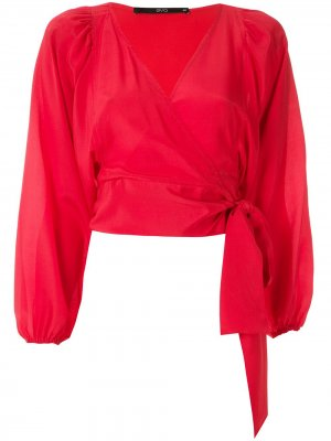 Блузка Cachecoeur Eva. Цвет: красный