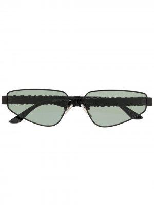 Солнцезащитные очки BB0107S Balenciaga Eyewear. Цвет: черный