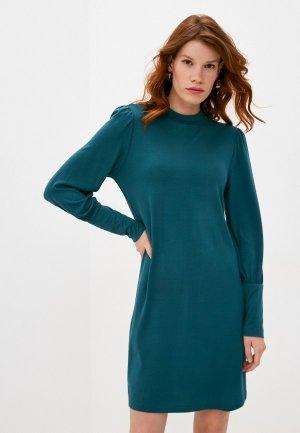 Платье Jacqueline de Yong. Цвет: бирюзовый