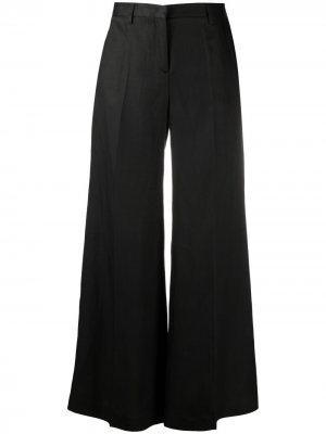 Укороченные брюки широкого кроя Alberto Biani. Цвет: черный