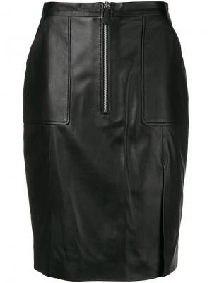 Zipped pencil skirt Altuzarra. Цвет: черный